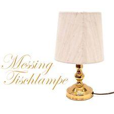 Tischlampe Messing elegant Tischleuchter Shabby Chic Lampe - mehrere vorhanden