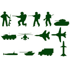 Stencils Template Military army for Scrapbooking craft supplies Airbrush Paint