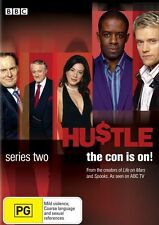 Hustle : Series 2 (DVD, 2008, 2-Disc Set) Region 4 Drama DVD Rated PG Used VGC