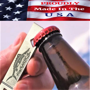 NEW STAINLESS BOTTLE OPENER Marlin Edition Premium Heavy Duty Beer Bar Tool