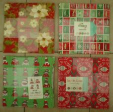 "Layer Cakes - MODA - 10"" x 10"" squares - Christmas - 100% Cotton"