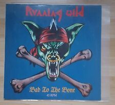 "RUNNING WILD BAD TO THE BONE 12"" VINYL MAXI SINGLE TOP CD LP IRON MAIDEN AC/DC"