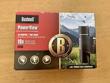 Bushnell Binoculars,10x25,New In Box Never Open, 2011,Model #132516, Black