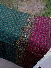 "Fabric Remnant S.Shamash 5296 Multi Color Cotton 2 3/4+Yds x 54"""