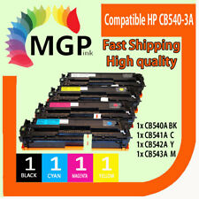 4x Toner Cartridge CB540A CB541A CB542A CB543A for HP Laserjet CM1300 CM1312 MFP
