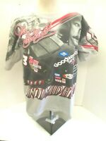 Nascar Dale Earnhardt #3 The Intimidator XL All Over Print T Shirt Rare Vintage