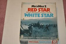 SPI Mech War 2/ Red Star/White Star - Unpunched