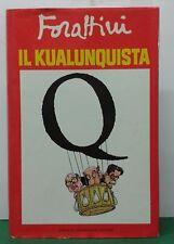 IL KUALUNQUISTA 1 edizione G.Forattini Mondadori 1988
