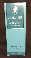 WORTH JE REVIENS  30 ML EAU DE TOILETTE NATURAL SPRAY EDT - NEW & SEALED IN BOX