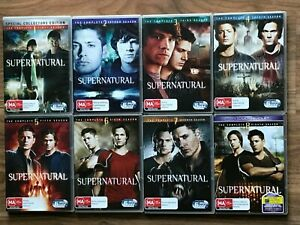 SUPERNATURAL Season 1 2 3 4 5 6 7 8 DVD - Region 4