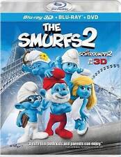 The Smurfs 2 in 3D  (Blu-ray/DVD, 2013, 3-Disc Set, Canadian 3D)