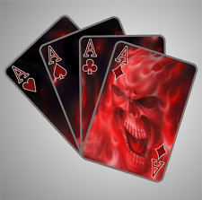 Teufel Style Aufkleber Sticker Spielkarte Sticker Bomb Shocker Autoaufkleber Tot
