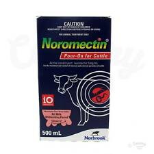 Noromectin Pour On Cattle Drench 500ml (Equiv, Ivomec, Ausmectin, Ivermectin)