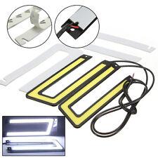 2x Coches COB LED Luz Corriente Diurna DRL Conducción Niebla Lámpara 6000K Luces