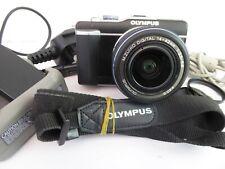 Olympus PEN E-PL1 Digital Camera + Zuiko 14-42mm zoom lens & accessories - VGC+