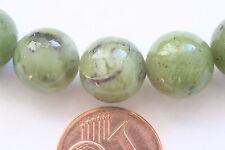 Canada-Jade-Strang(Kugel 10,0 mm) I-0054/I