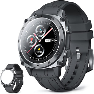 Smart Watches for Men, CUBOT Bluetooth Fitness Tracker with Heart Rate Monitor,