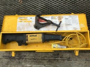 REMS TIGER RECIPROCATING SAW WITH CARRY CASE PIPE CUTTER STEEL PLASTIC TIMBER