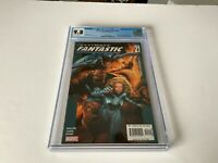 ULTIMATE FANTASTIC FOUR 21 CGC 9.8 WHITE PAGES 1ST MARVEL ZOMBIES MARVEL COMICS