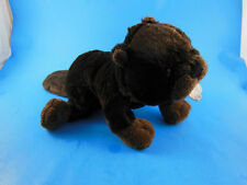 Ganz Webkinz Dark Brown Beaver Plush  No Code