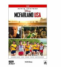 DVD - McFarland USA DVD 2015 Action Adventure Family FAST SHIPPING !