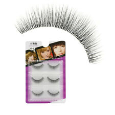 12Pairs Soft Nude Make-up Effect 1 00%  mink fur eyelash mink False Eyelashes