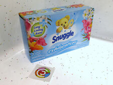 Snuggle Island Hibiscus & Rainflower Fabric Softener Dryer Sheets 70ct