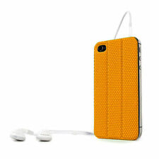 Apple Iphone 4 4S cover case protective Tidy Tilt cord wrap magnetic back Orange