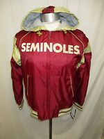 Florida State Seminoles Women's  M L XL Hooded Zip Up Track Jacket NCAA A10TL