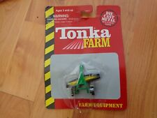 TONKA MINI FARM EQUIPMENT - HAY RAKE FOR TRACTOR DIECAST FARM VEHICLE BOXED