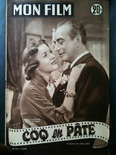 """Mon Film 4/6/52 """"Coq en Pâte"""" J.Gauthier/M. Escande"""