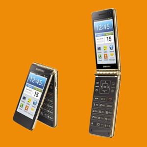 Original Android Samsung Galaxy Golden GT-I9235 Cellphone LTE 8MP Flip Phone