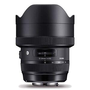 Sigma Nikon 12-24mm F4.0 Art Wide Angle Lens