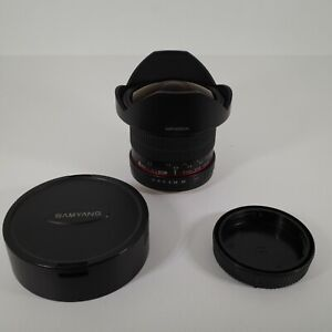 Samyang F3.5/8mm 1:3.5 8mm UMC Fish Eye CS II Lens - Canon - Beautiful Condition