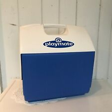 Igloo Playmate Elite Hard Sided Cooler 16 Qt Blue and White