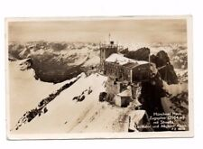 Germany - Zugspitze, Munchner Haus - Vintage Real Photo Postcard