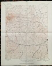 USGS Topographic Map 1895 Data SPANISH PEAKS QUADRANGLE, COLORADO