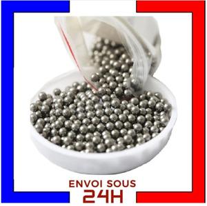 100 billes acier carbone - Ø 6 mm - Munition Pour lance pierre Fronde Ammo