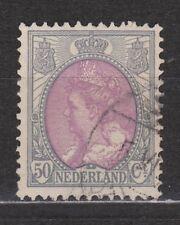 NVPH Netherlands Nederland 75 used Wilhelmina bontkraag 1899-1921 Pays Bas