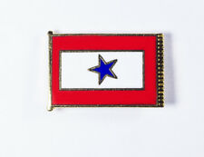 Blue Star Flag Pin Family in Military Service Shirt Lapel Hat Pin -FREE SHIPPING