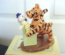 ROYAL DOULTON WINNIE THE POOH FIGURE 'BOUNCY BOUNCY BOO TO YOU' NEW. BOXED
