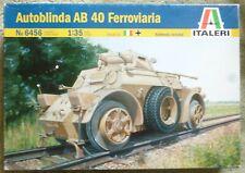 Italeri (6456) Autoblinda AB 40 ferroviaria Ferrocarril versión en escala 1:35