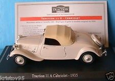 CITROEN TRACTION AVANT ROADSTER CABRIOLET 11A 1935 1/43 UNIVERSAL HOBBIES