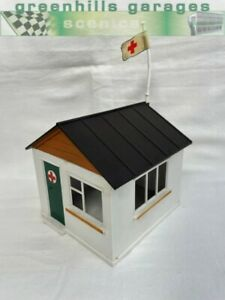 Greenhills Scalextric Vintage First Aid Hut Building A211 - Used - ACC3085