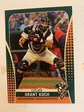 New listing Grant Koch 2019 Greensboro Grasshoppers Team Card