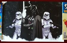 Star Wars Darth Vader & Stormtroopers Art Print - By Tom Hodges - RARE!