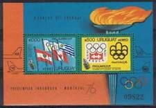 Uruguay postfris 1975 MNH block 25 - Olympische Spelen (S0791)
