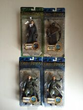 Toy Biz Marvel Lord Rings (4) Action Figure LOT Legolas Arwen Haradrim Archer