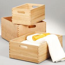 Allzweckkiste Buche Holz Holzkiste Spielzeugkiste Aufbwahrungsbox Kiste Truhe