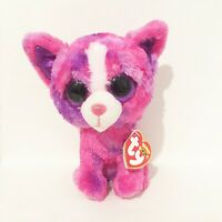 """TY Beanie Boos Collection Dakota The Pink Chihuahua - Justice -  6"""" - New"""